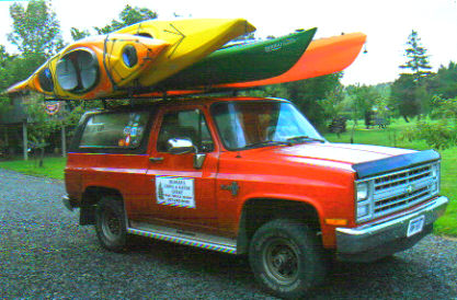 We deliver Canoes and  Kayaks in the Finger Lakes.